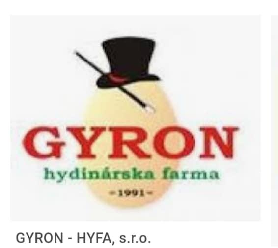 Firma GYRON nám znovu pomohla potešiť