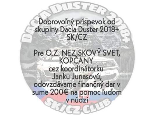 Duster club sk/cz